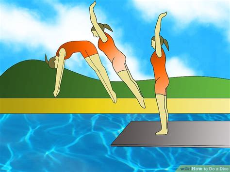 How To Dive by How To Do A Dive 15 Steps With Pictures Wikihow