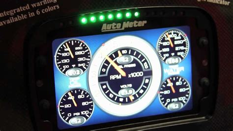 Auto Meter's Lcd Gauge Display Is A Whole New Level Of