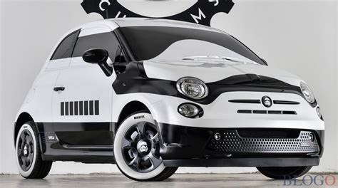 Fiat Garage by Fiat 500e Stormtrooper Garage Italia Customs