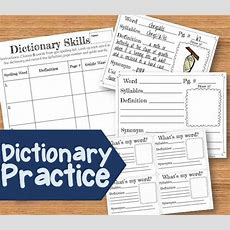 17 Best Images About Dictionary & Reference Skills On Pinterest  Vocabulary Words, Words And