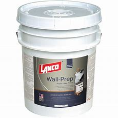 Lanco Wallprep 5 Gal Acrylic Latex Ultra White Interior