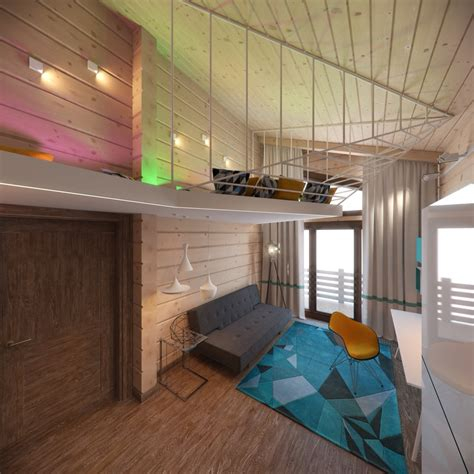 creative bunk bed ideas 3 creative top floor rooms with wood accents
