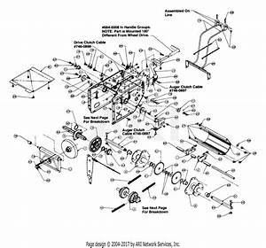 Mtd 315e740f352  1995  Parts Diagram For Frame And Drive