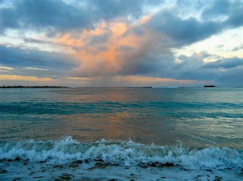 sunset waves 183 free photo on pixabay