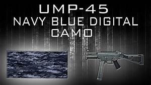 BF3|Camo| - UMP-45 NAVY BLUE DIGITAL CAMO - YouTube