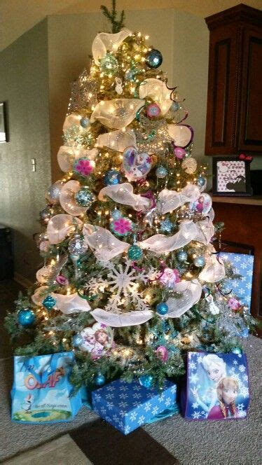 frozen themed christmas tree christmas decorations