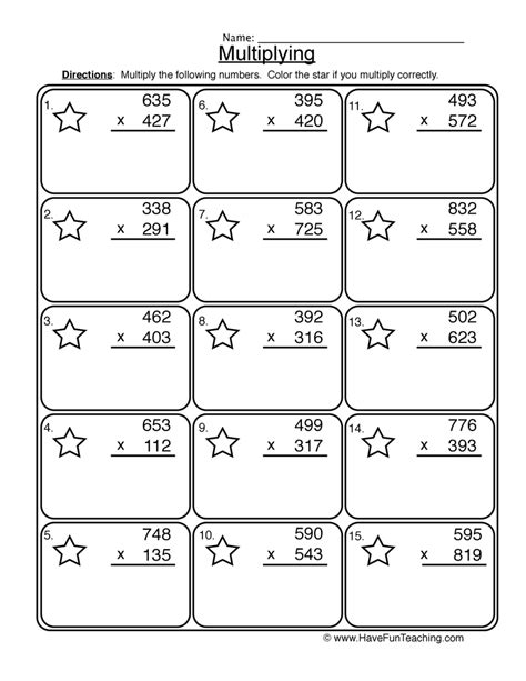 worksheet teaching multiplication worksheets hunterhq