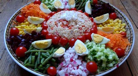 plats simples à cuisiner salade marocaine maroc la tendresse en cuisine