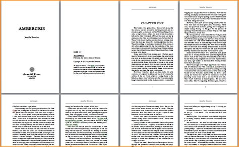 Book Templates For Microsoft Word 9 Book Template Word Invoice Template