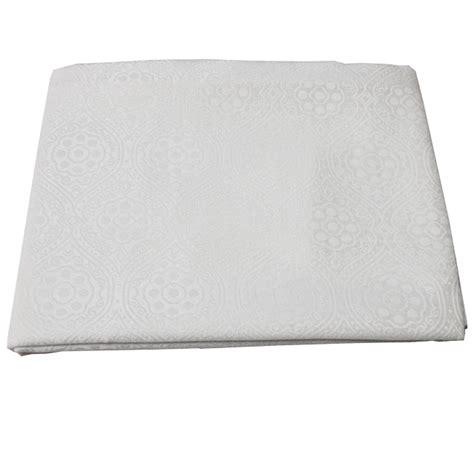 decke 100 polyester tischdecke 110x140 creme wei 223 bordeaux 100 polyester