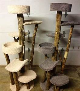 this diy pet treehouse keeps your cat s jungle instincts
