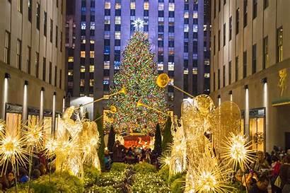 Rockefeller Center Nbc Location Night Visit Saturday