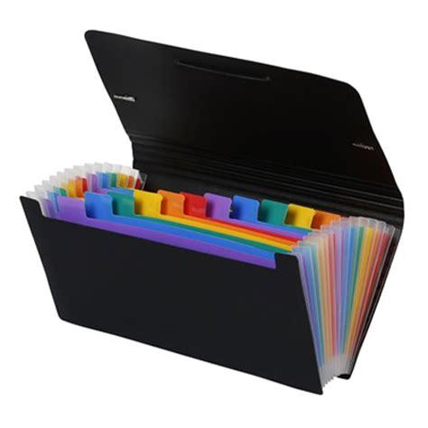 trieur de bureau viquel rainbow class trieur au format chèque 26 x 13 xm 12
