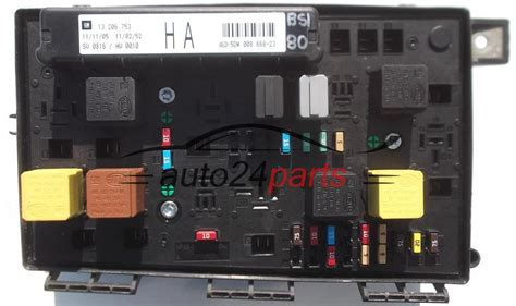 Astra H Fuse Box Interior Light by Fuse Relay Box Electrical Comfort Module Opel