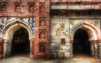 Indian India Arch Wallpapers Desktop Architecture Royal