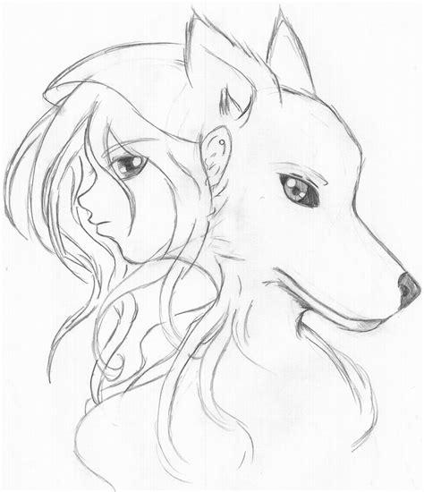Anime Drawing Wolf Girl Anime Collection