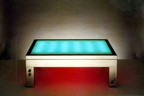 crate and barrel glow table l coffee table light up coffee table home interior design