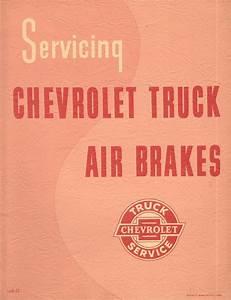 1957 Servicing Chevrolet Truck Air Brakes