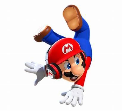 Mario Super Run Nintendo Update Background Headphone
