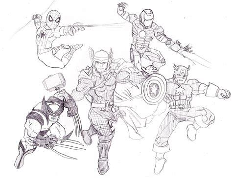 avengers vs justice league artist show off comic vine