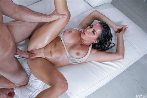 Sexy Milf Juliana Vega With Big Ass In Oil Gets Hard Fuck