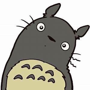 Totoro smiling   Shirt Inspiration   Pinterest   Happy ...