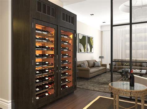 refrigerated wine cabinet glamorous custom refrigerated