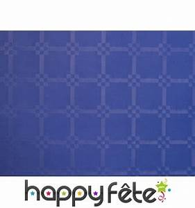 Nappe Bleu Marine : nappe bleu marine damass e x 6m ~ Teatrodelosmanantiales.com Idées de Décoration