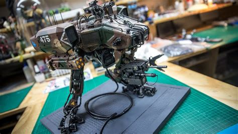 weta workshops moose attack robot  chappie youtube