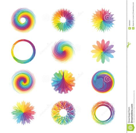 colorful abstract designs stock illustration image of