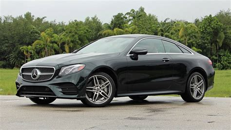 2018 Mercedesbenz Eclass Coupe Review Smooth Operator