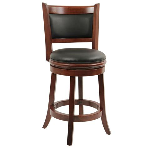 counter height bar stool wood kitchen office swivel stool