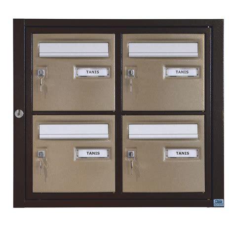 boites aux lettres collectives ext 233 rieures mod 232 les lima et tanis cibox