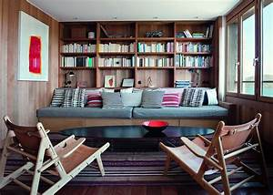 awesome decoration salon avec bibliotheque contemporary With meuble d angle maison du monde 10 bibliothaque les meilleurs meubles pour ranger les