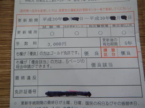 東京 都 運転 免許 更新