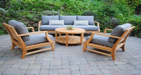 illuminating outdoor teak furniture ideas carehomedecor