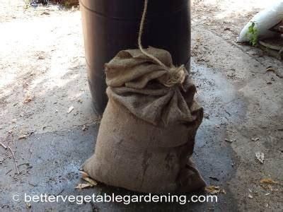 composted horse manure  vegetable garden fertilizer