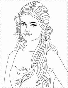 Nicole U0026 39 S Free Coloring Pages  Selena Gomez     Coloring Pages
