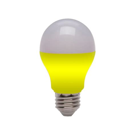 ecosmart 25w equivalent a19 led light bulb yellow ecs