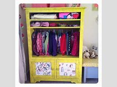 tv cabinet transformed into a wardrobe very clever lady