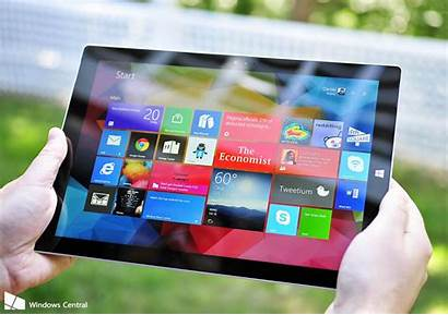 Surface Pro Windows Microsoft Central Wallpapers Slow