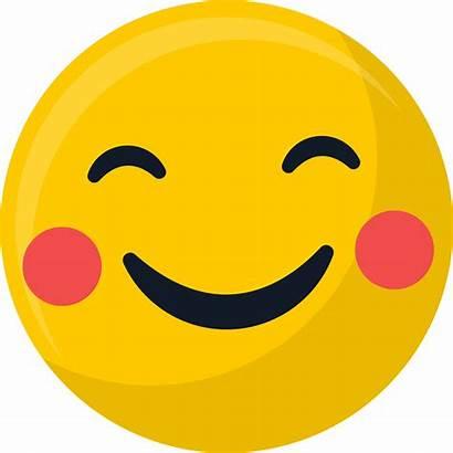 Emoji Smiley Face Happy Clipart Shy Emoticon