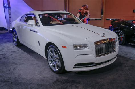 rolls royce white wraith motor city exotics the gallery at the 2015 detroit auto