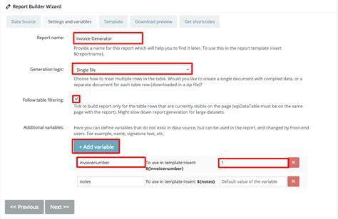 Docx Word Generator For Wordpress  Report Builder