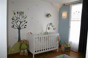 idee decoration pour chambre bebe garcon With photo chambre bebe garcon