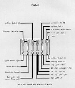 Vw Bug Ignition Switch Wiring Diagram