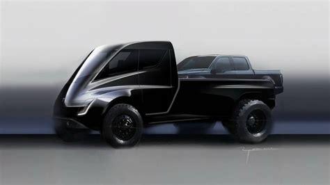Tesla Pickup Truck Shown During Semi Reveal