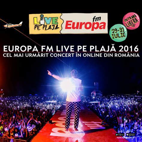 Europa Fm Live Pe Plajă 2016, Cel Mai Urmărit Concert în