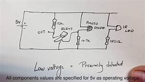How To Build A Simple Infrared Ir  Proximity Sensor
