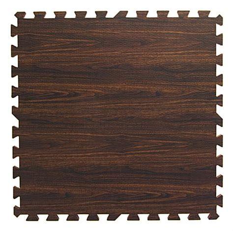oak interlocking wood floor mats faux wood grain